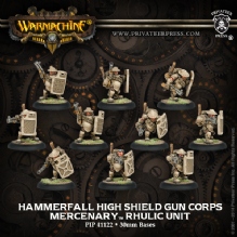 Mercenary Hammerfall High Shield Gun Corps (10)